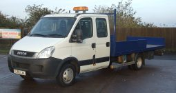 (882) IVECO DAILY 5200KG DROPSIDE (YJ59LXA)