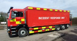 EX FIRE & RESCUE CURTAINSIDE WITH FORKLIFT DG53 FWJ