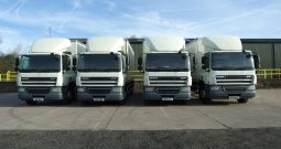 CHOICE OF 4 DAF 65 250 BOX VANS