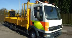 (2119)DAF 45.160 EX TRAFFIC MANAGEMENT PF08SDZ
