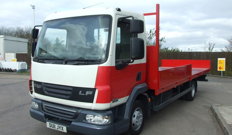(2007) DAF 45 140 SCAFFOLD DU11JYX full