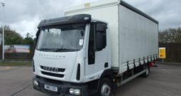 38,000kms!!! IVECO 75 E 16 CURTAIN SIDE  GN10CXD