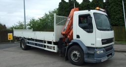 ONLY 16,039 KMS DAF 55 180 ATLAS 92.2 A2 MX56OBU
