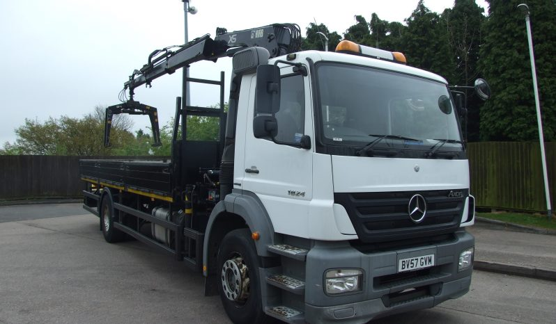 (2196) MERCEDES 1824 DROPSIDE BV57GVM full