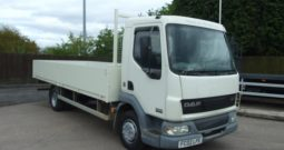 113542KMS ONLY 2002 10 TON DAF