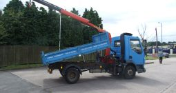 75,413 KMS ONLY DAF TIPPER CRANE