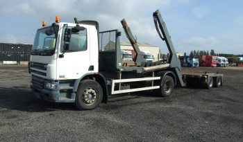 18 TONNES SKIP LOADER WITH DRAG full
