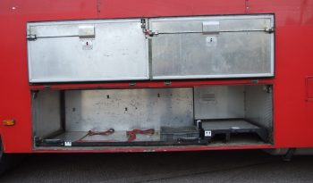 EX FIRE BRIGADE SCANIA 94 D WITH MOFFIT FORK LIFT full