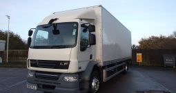 2012 DAF 55 220 BOX 132448 KMS