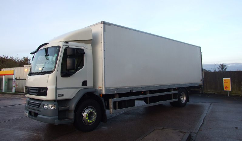 2012 DAF 55 220 BOX 132448 KMS full
