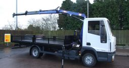IVECO 75 E16, 2017 PM 6 PIPED CRANE