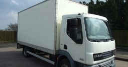 110941 KMS BOX VAN 18FT WITH TAIL LIFT