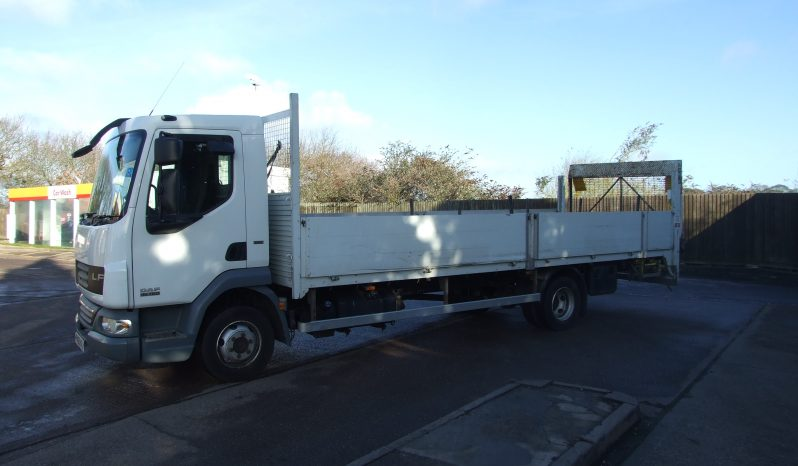 2010 DROPSIDE 22FT WITH TAIL LIFT full