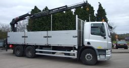 BARGAIN!!! HIAB 175 ON DAF 75 310 2009 59 REG