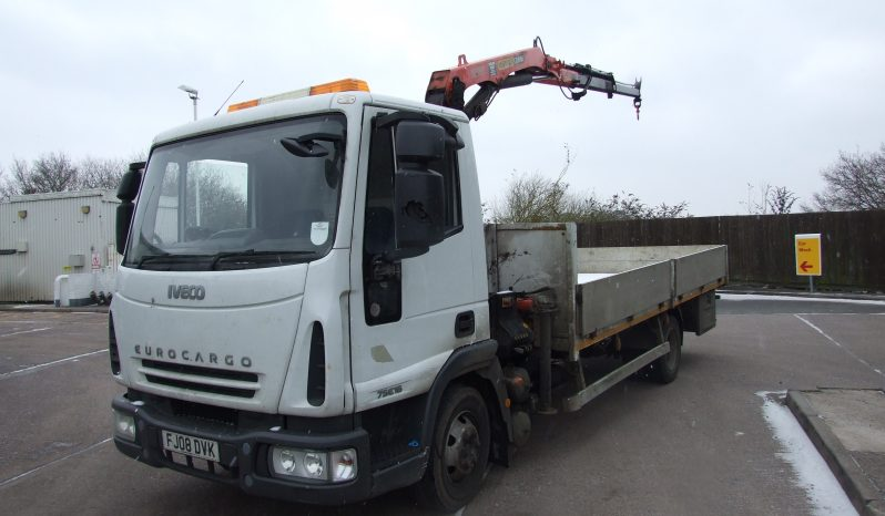 IVECO 75E16 PALFINGER 6500, 2 EXTENSIONS full