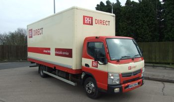 CHOICE OF 4 MITSUBUSHI CANTER BOX VANS full