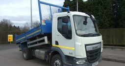 DAF 2015 65 REG EURO 6 TIPPER EX COUNCIL