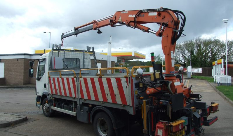 EX NATIONAL GRID DAF 45, 2010 WITH ATLAS 65.2 REMOTE CONTROL CRANE full