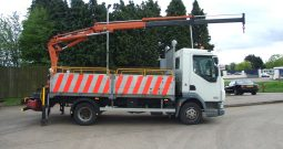 EX NATIONAL GRID DAF 45, 2010 WITH ATLAS 65.2 REMOTE CONTROL CRANE