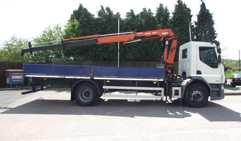 2012 DAF 55 220 ATLAS 105.2, 2 EXTENSIONS full