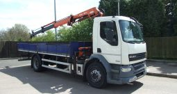 2012 DAF 55 220 ATLAS 105.2, 2 EXTENSIONS
