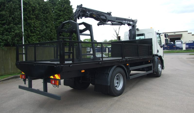 DAF 55 220 2011, ATLAS 92.2 CRANE full