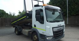 2014 DAF EX COUNCIL TIPPER