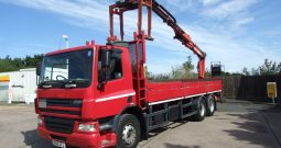DAF 75 310 ATLAS 135.2 CRANE STAND UP CONTROLS