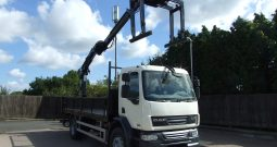 2011 DAF 55 220, ATLAS 105.2 2 EXTENSIONS STAND UP CONTROLS