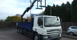 DAF 75 310 WITH ATLAS 135.2 CRANE