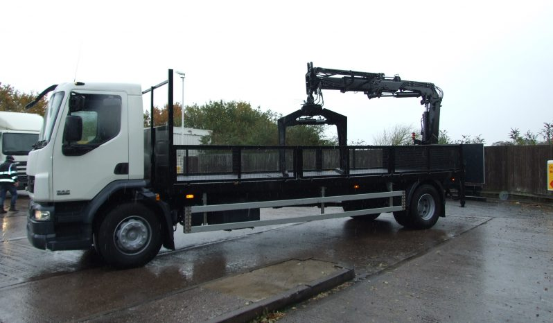 2011 DAF 55 220, ATLAS 120 2 EXTENSIONS full
