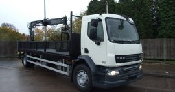 2011 DAF 55 220, ATLAS 120 2 EXTENSIONS