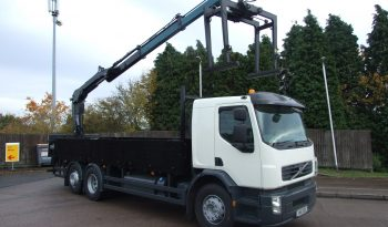 VOLVO REAR MOUNT HIAB 144 BRICK GRAB full