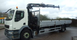 DAF 55 220 2010 FITTED WITH ATLAS 105.2 CRANE