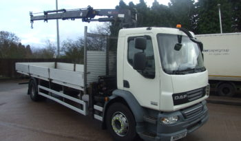 DAF 55 220 2010 FITTED WITH ATLAS 105.2 CRANE full