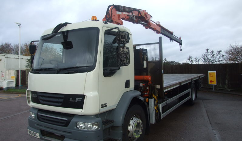 DAF 55 220 ATLAS 135.2 STAND UP CONTROLS full