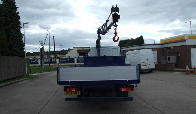 IVECO 75 E17, ONLY 103443 KMS 2017 PM6 CRANE full