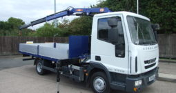 IVECO 75 E17, ONLY 103443 KMS 2017 PM6 CRANE