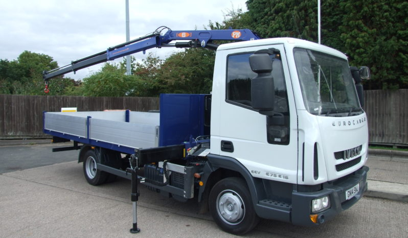 front right side of iveco crane 2017