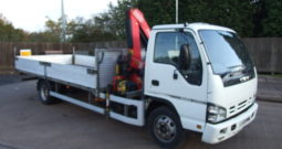 ISUZU NQR FITTED WITH FASSI F50 CRANE