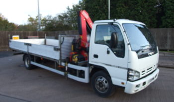 ISUZU NQR FITTED WITH FASSI F50 CRANE full