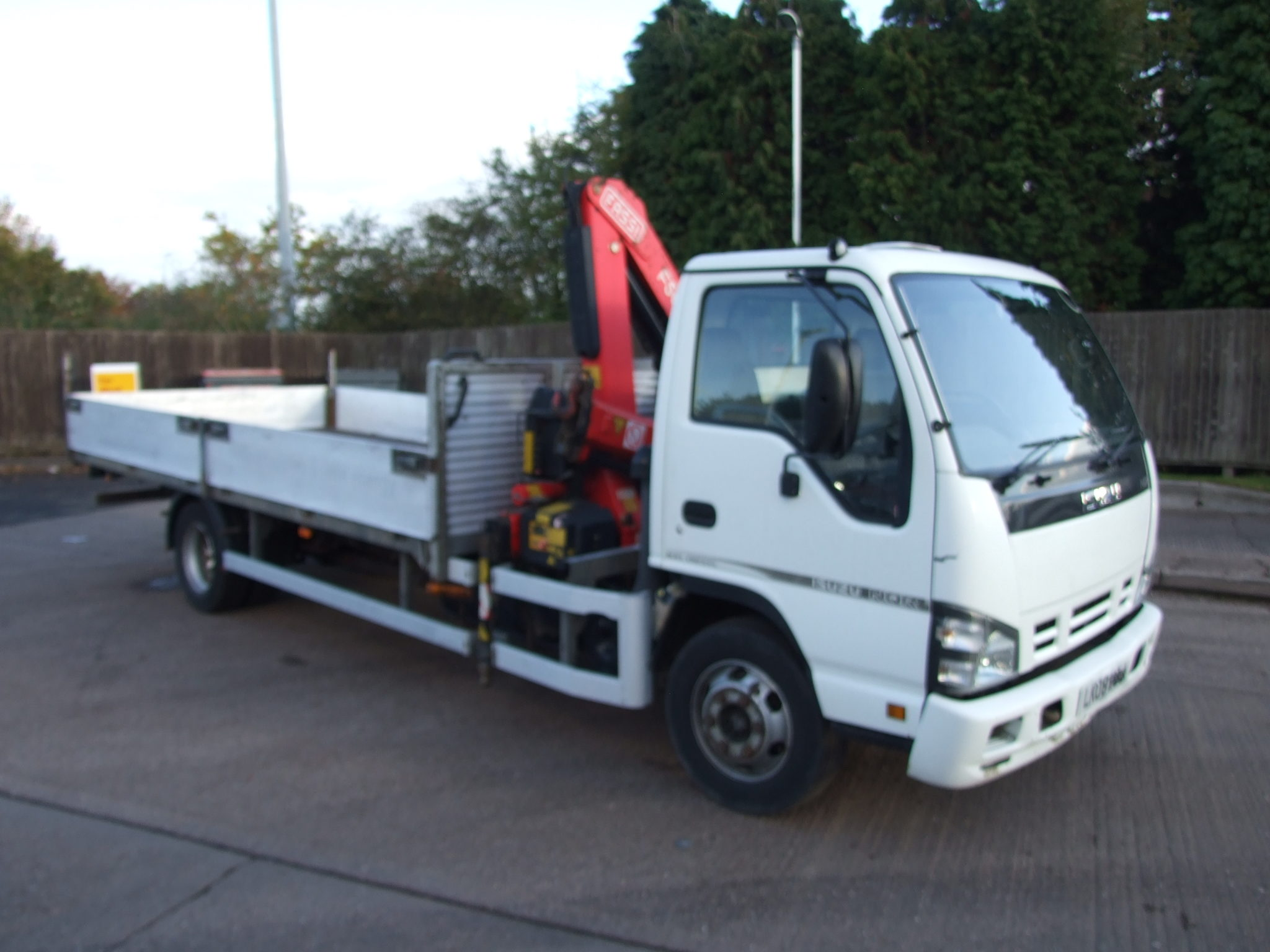 Mercedes West Chester >> ISUZU NQR FITTED WITH FASSI F50 CRANE - Cromwell Trucks
