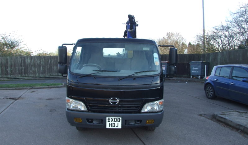 HINO 3815 WITH PM 6 CRANE, ONLY 48,007 KMS full