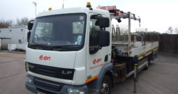 CHOICE OF 3 DAF 45 160 2012, HMF 353 CRANE