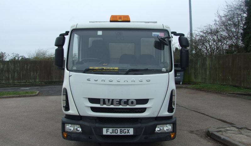IVECO 75 E16 TREE SURGEON TIPPING BODY full
