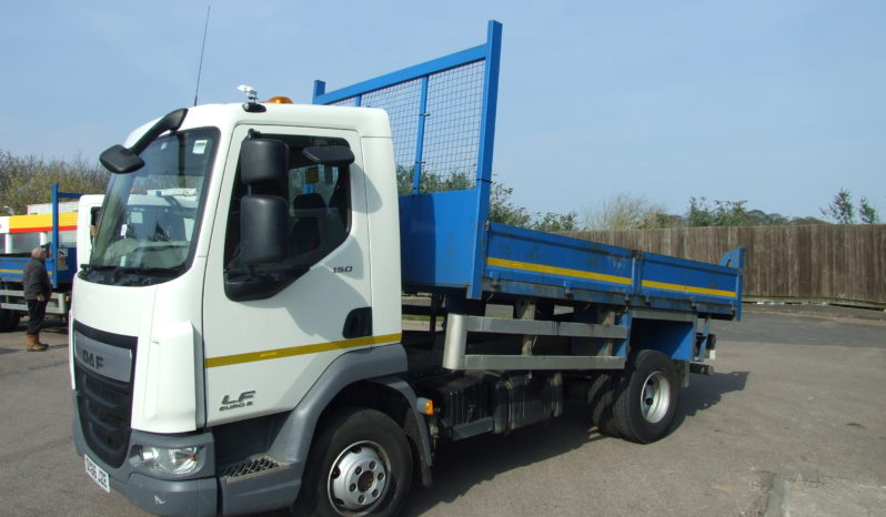 2016 66 REG DAF 7.5 TONNE TIPPER EX COUNCIL full