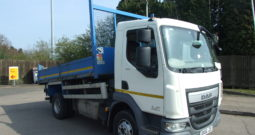 2016 66 REG DAF 7.5 TONNE TIPPER EX COUNCIL