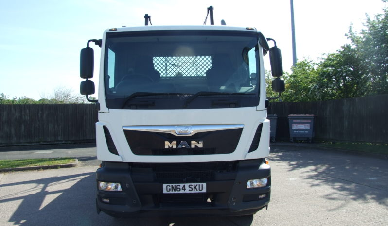 MAN 2014 TGM 18.25 HYRA SKIP EQUIPMENT full