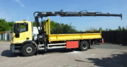 VERY LOW MILEAGE IVECO WITH HIAB 144