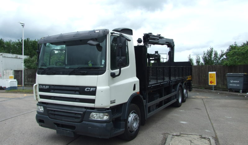 2013 DAF 75 310 WITH HIAB 144 full